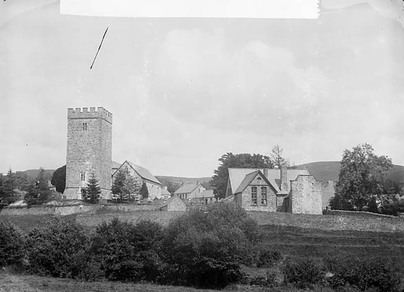 [The church and village, Cynwyl Gaeo]