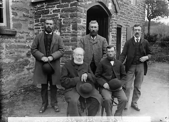[Calvinistic Methodist deacons, Llangernyw (1895)]