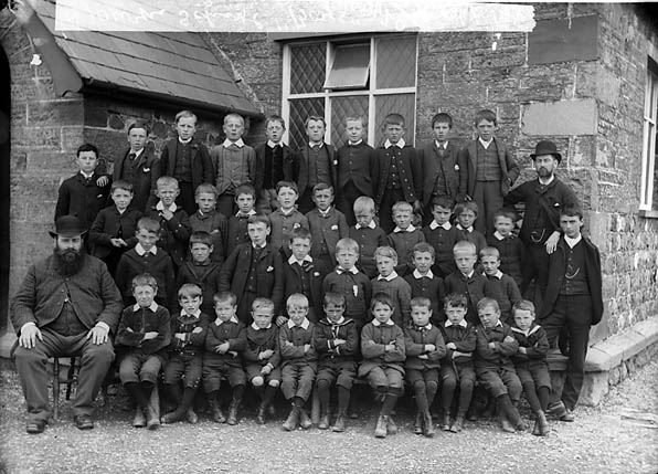 [Boys, Tywyn school (1890)]