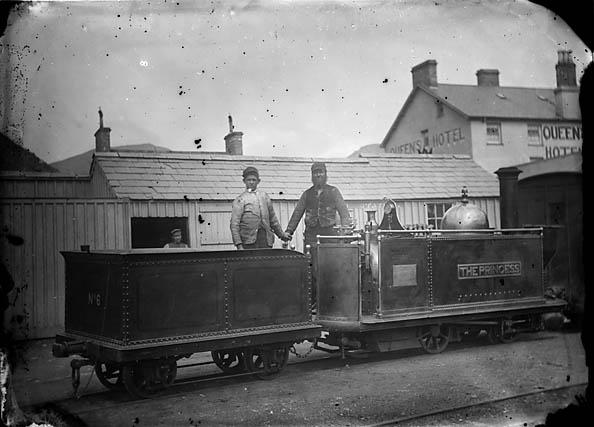 [The Princess locomotive engine, Ffestiniog railway]