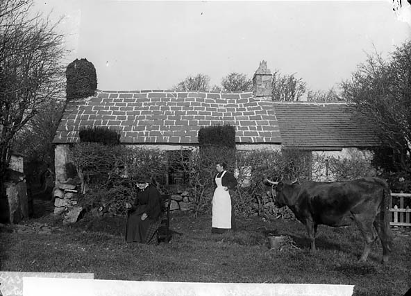 [Mother and Home of John Jones (Myrddin Fardd), Llanbedrog]