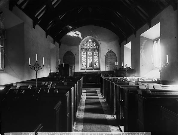 [The interior of the church, Manafon]