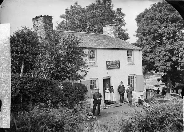 [Joseph Hurst family, Bridge Inn, Llangernyw]