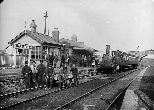 [The railway station, Trawsfynydd]