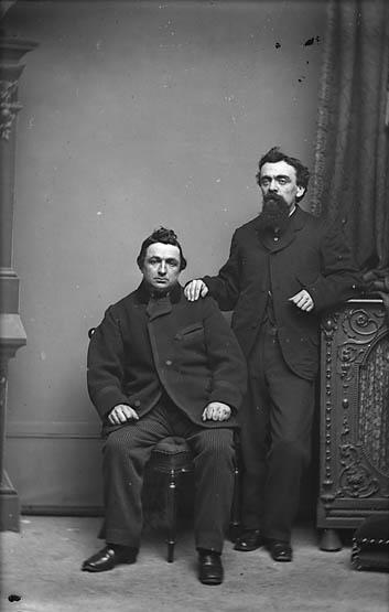 [Noah Morgan Jones (Cymro Gwyllt, -1894) a Cynnon]