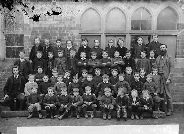 [Boys, Carno school (1890)]