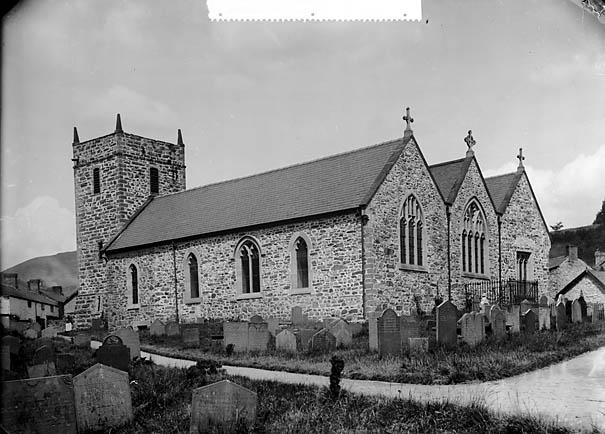 [The church, Llanrhaeadr-ym-Mochnant]