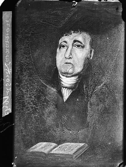 [Revd Richardson, Caernarfon (original painting)]