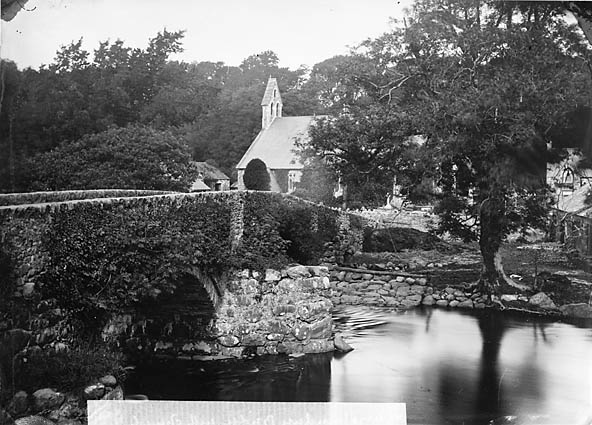 [The bridge and the church, Llanystumdwy]