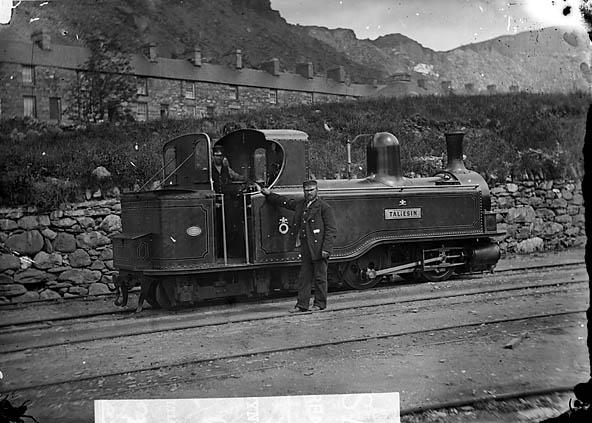 [Taliesin engine, Ffestiniog railway]