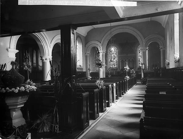 [The interior of the church, Llanfyllin]
