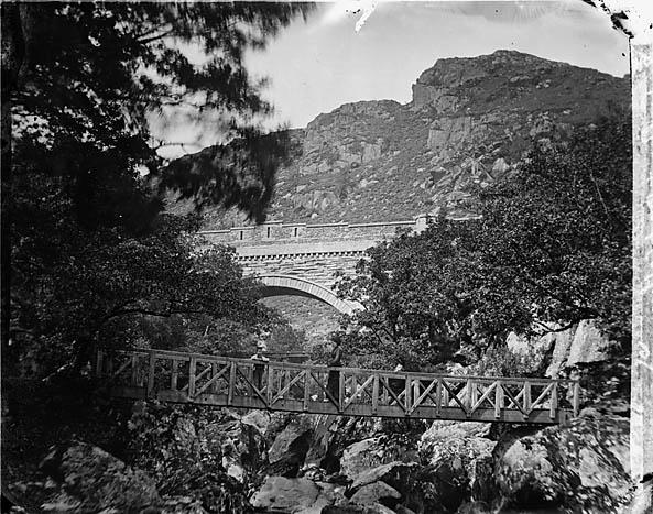 [Pont-y-glyn and Pont Gethin, Dolwyddelan]