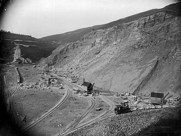 [The quarry, Llanwddyn]