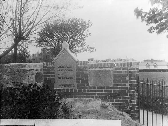 [A monument in St Michael's churchyard, Abergele]