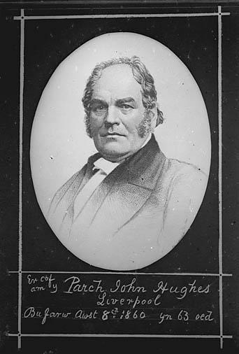Er cof am y Parch John Hughes, Liverpool