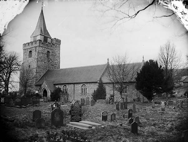 [The church, Llangurig]