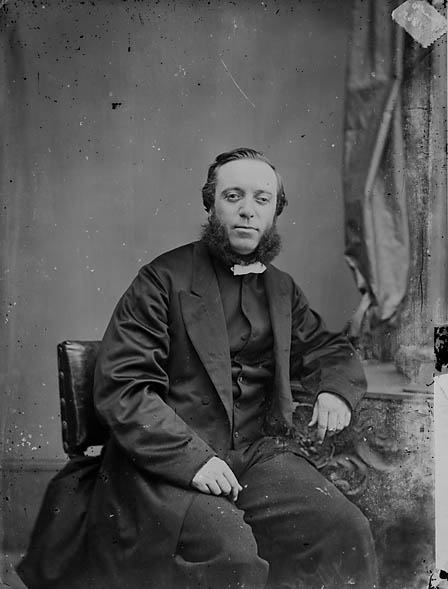 [Revd David Saunders (1831-92) in 1865]