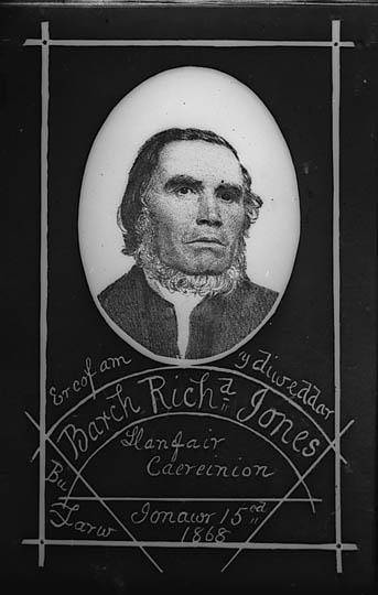 Er cof am y diweddar Barch Richd Jones, Llanfair Caereinion