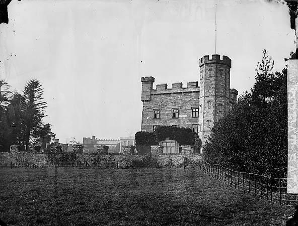 [The terraces, Castell Deudraeth, Penrhyndeudraeth]