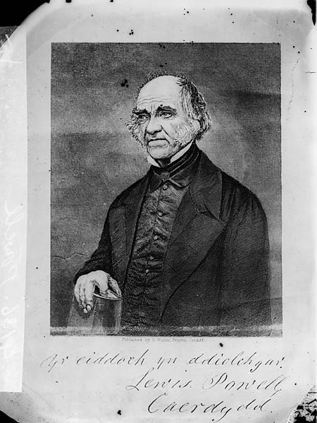 [Revd Lewis Powell, Cardiff (print)]