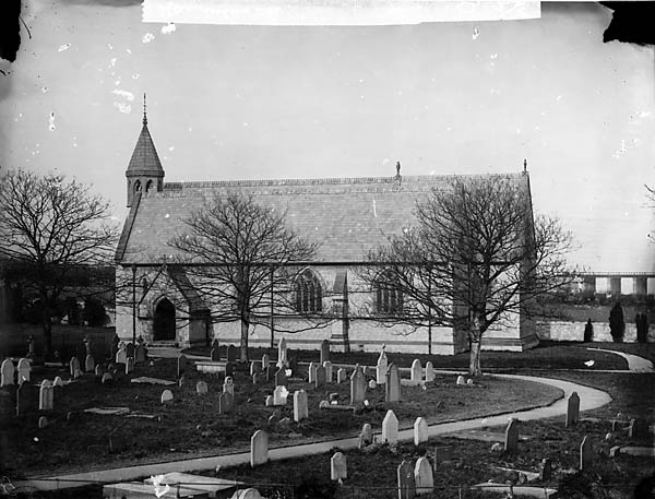 [The church, Llanddulas (Dinb)]