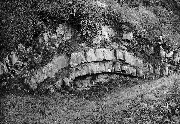 [A natural arch in the rock, Llanbryn-mair]