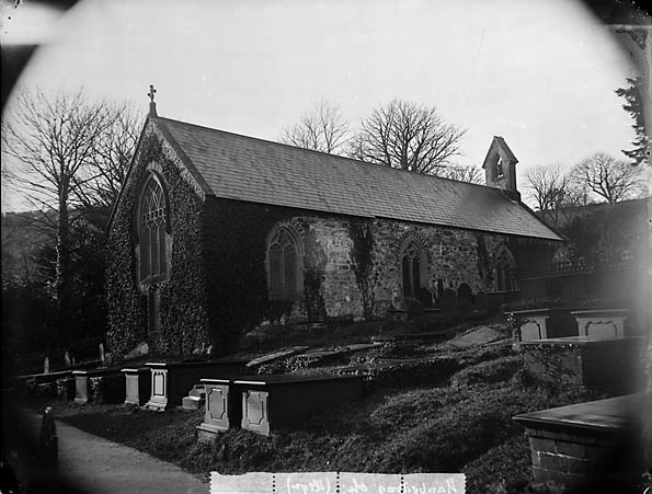 [The church, Llanbedrog]