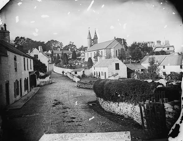 [A view of Betws-yn-Rhos from the Llanfair road]