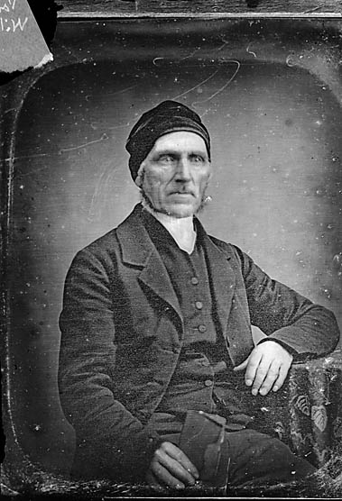 [Revd J Williams (W) (copy from a daguerreotype photograph?)]
