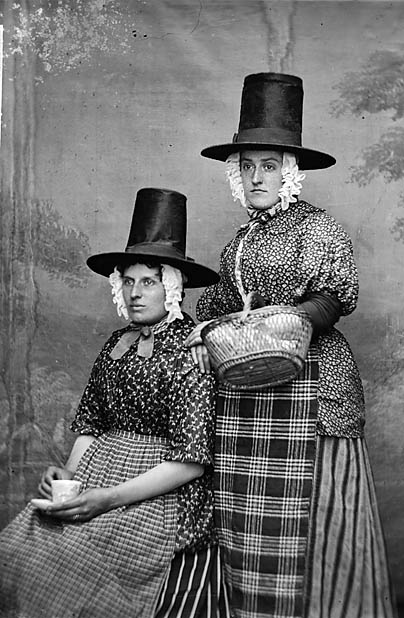 [Two women in national dress (Jones)]