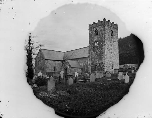 [The church, Corwen (1878)]