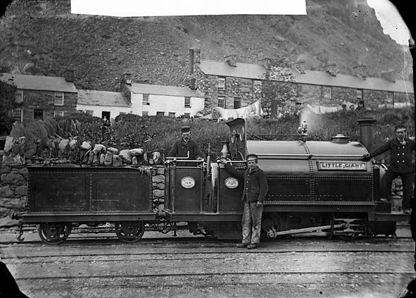 Little Giant locomotive engine, Ffestiniog railway