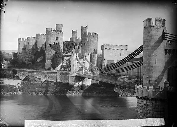 [Conwy castle and bridge]