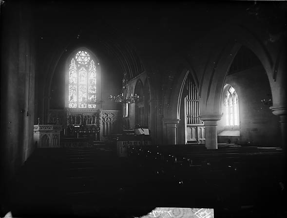 [The interior of the church, Llanddulas]