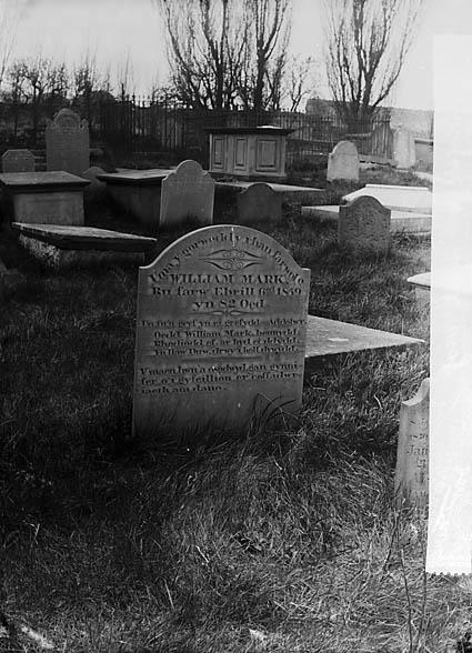 [The grave of William Mark (died 1859), Abergele]