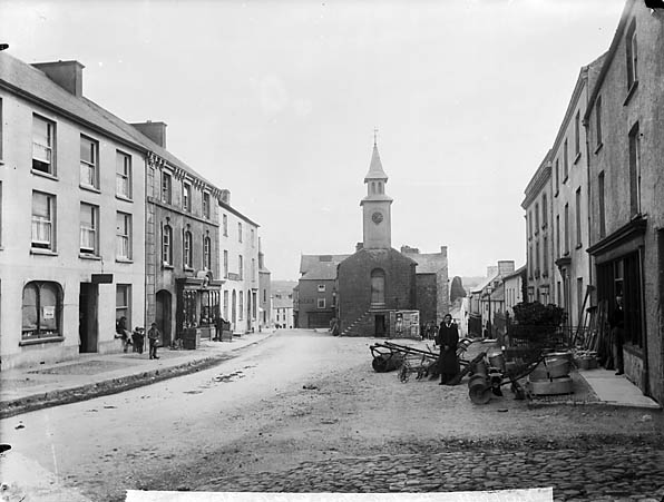 [The town hall and high street, Narberth]