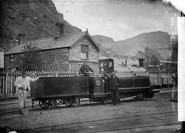 Welsh Pony locomotive engine, Ffestiniog railway