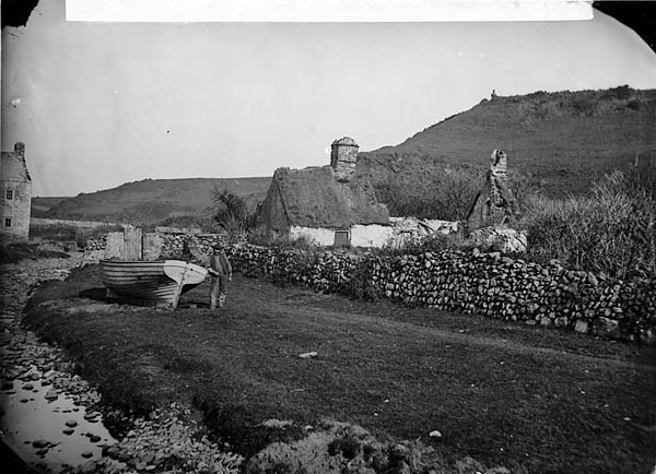 [Boat and cottage, Aberdaron]