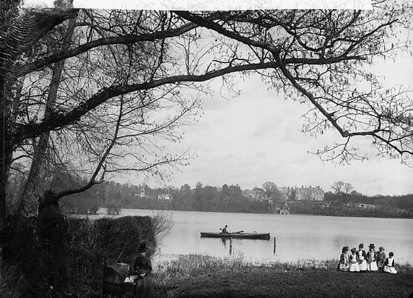 [The lake, Ellesmere (Salop)]