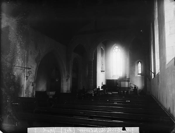 Y [Interior of the church, Narberth]