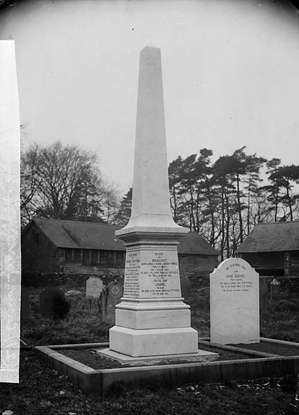 [Memorial to Revd Joseph Thomas (1814-89) and family, Carno]