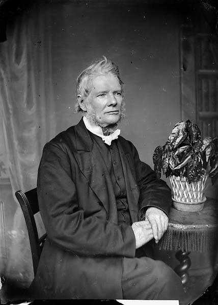 [Revd Owen Thomas (1812-91) at Y Bala, 1876]