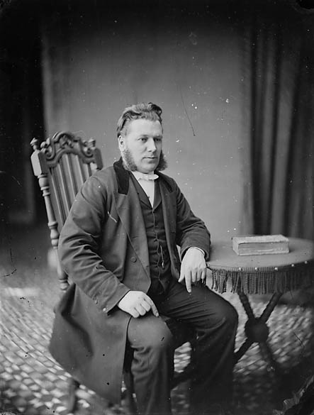 [Revd John Evans, Eglwysbach (1840-97)]