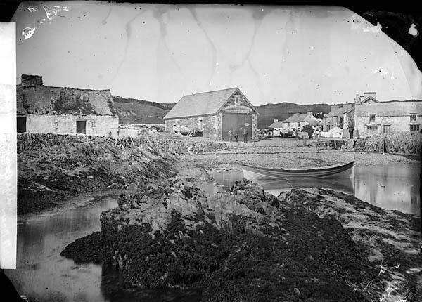 [Life boat house, Porth Llechog (Bull Bay)]