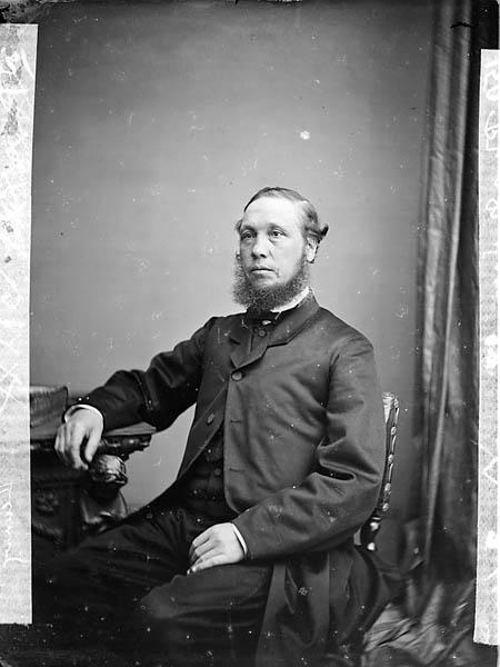 [Revd John Rhys Morgan (Lleurwg, 1822-1900)]