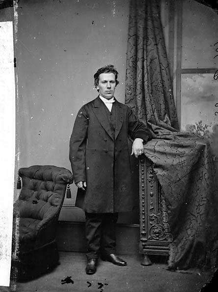 [Revd John Evans, Eglwys-bach (1840-97)]