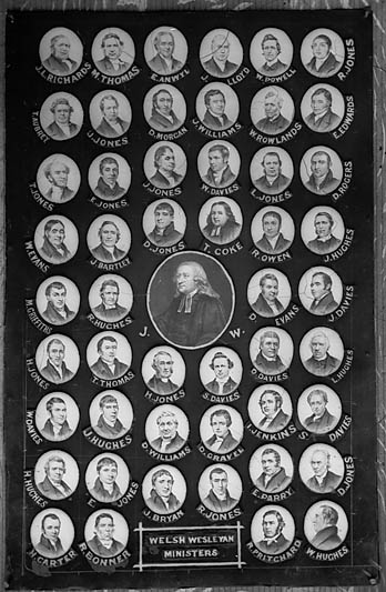 [Welsh Wesleyan Ministers, multi-portrait]