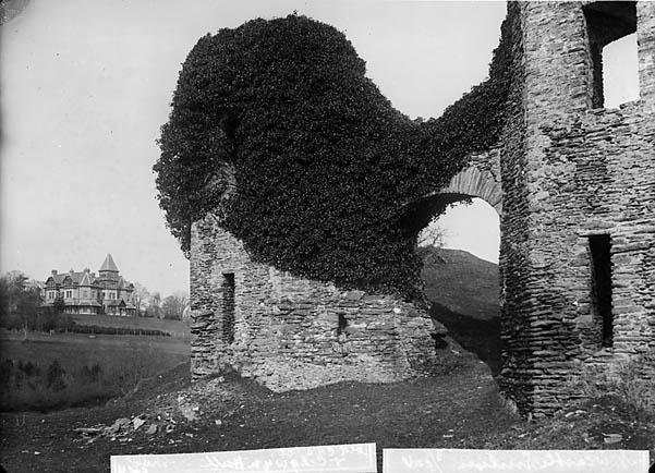 [The castle and Cilgwyn Hall, Newcastle Emlyn]