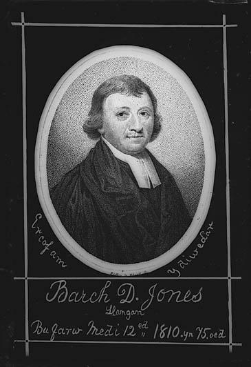 Er cof am y diweddar Barch D Jones, Llangan