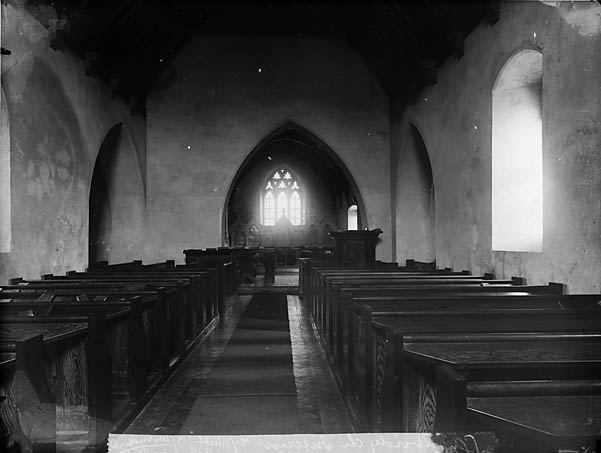 Y [Interior of the church, Llanboidy]